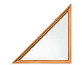 triangle windows for sale triangle shaped andersen windows right triangle isosceles triangle special shape window 400 series specialty