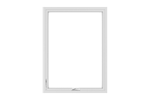100 series casement window standard sizing