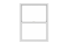 100 series single-hung window standard sizing