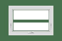 100 series awning window standard sizing