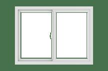 100 series gliding window standard sizing