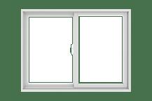 200 series gliding window standard sizing