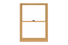400 series double-hung window standard sizing