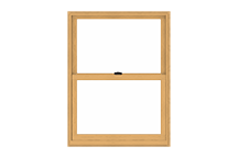 400 series woodwright double-hung window standard sizing