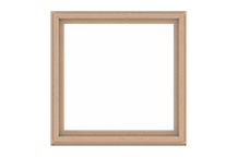 a-series picture window standard sizing