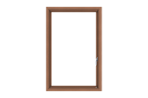 e-series push out casement window standard sizing