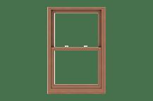 e-series double-hung window standard sizing