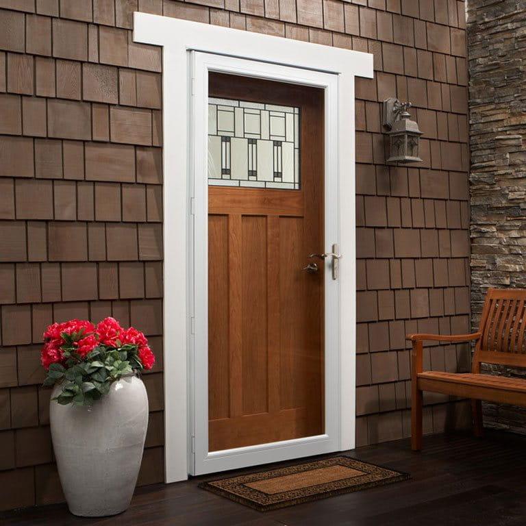 10 Series Fullview Interchangeable Storm Door