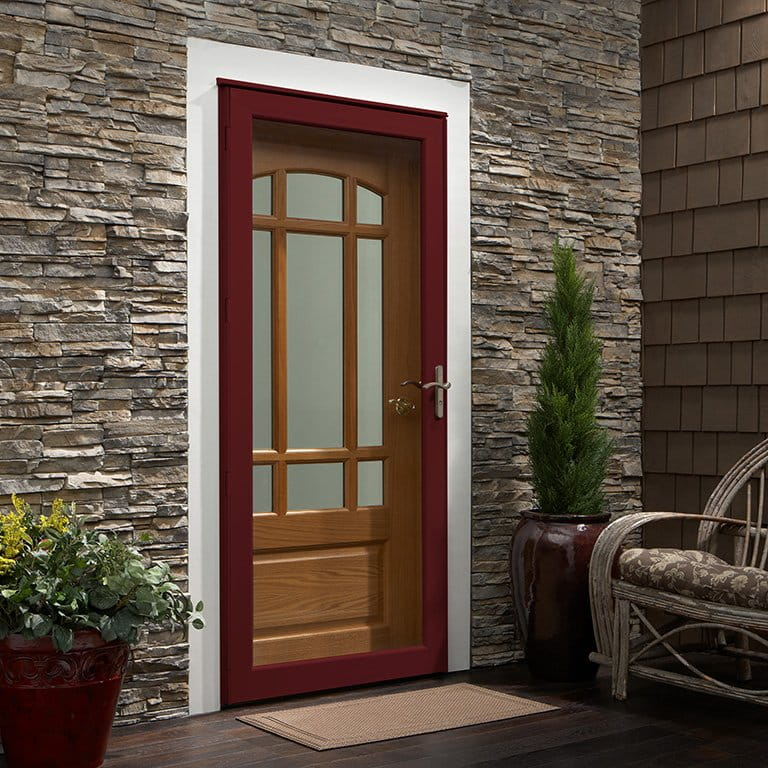 10 Series Fullview Laminated Storm Door