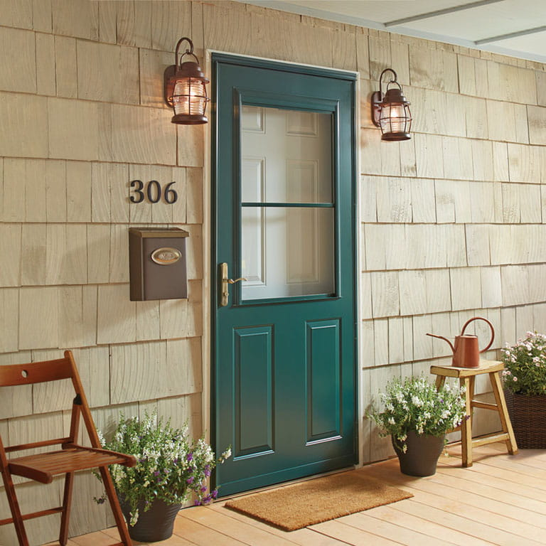 10 Series 1/2 Light Storm Door