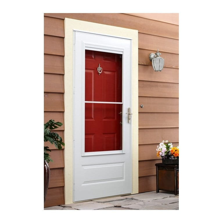 10 Series 3/4 Light Storm Door