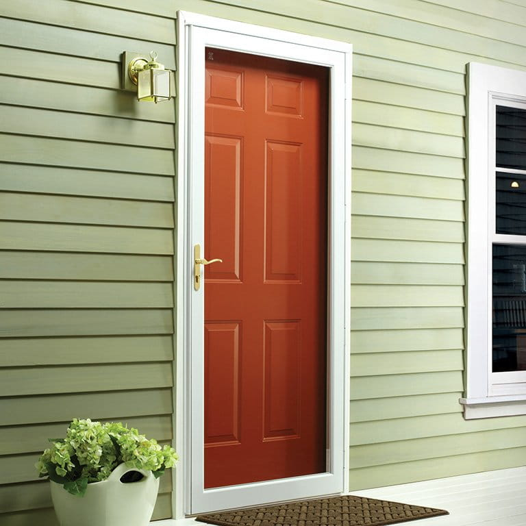 6 Series Fullview Interchangeable Storm Door