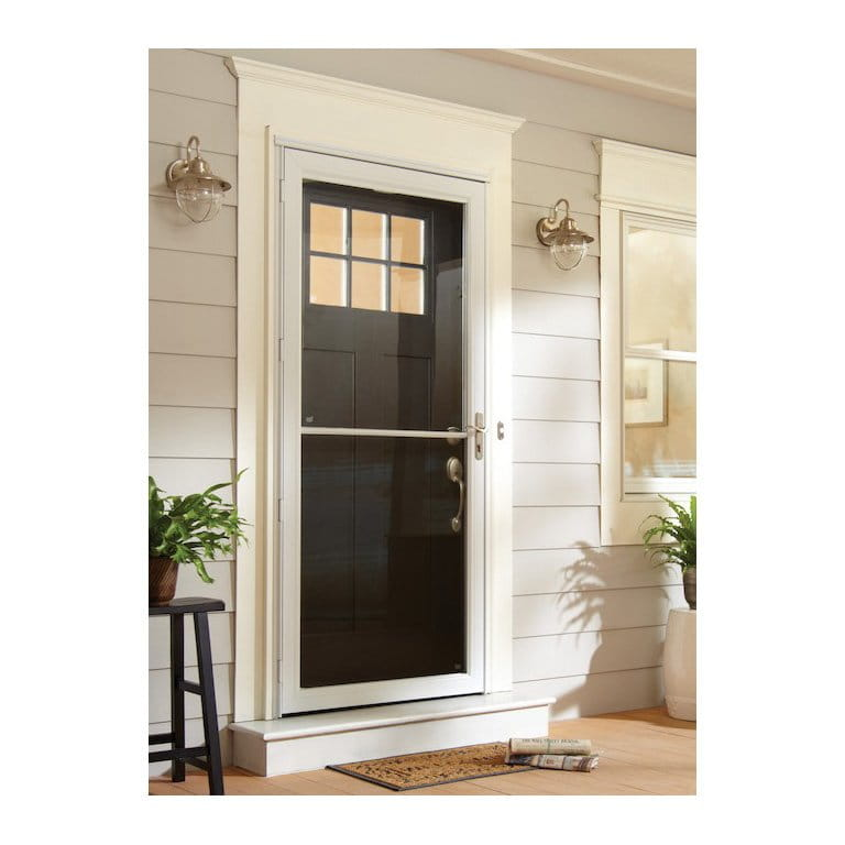 6 Series Fullview Retractable Storm Door