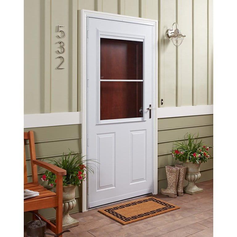 8 Series 1/2 Light Storm Door
