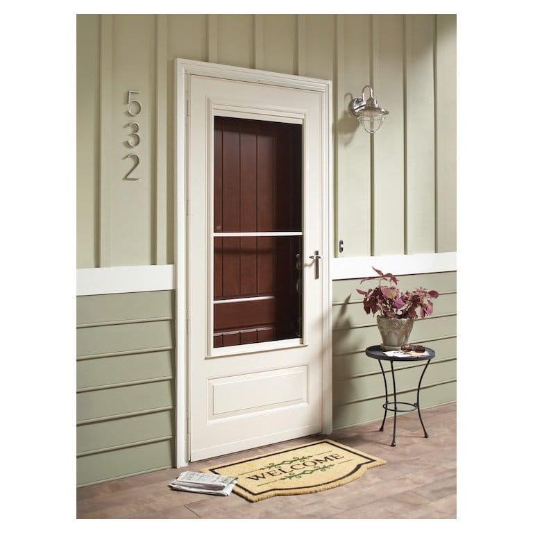 8 Series 3 4 Light Storm Door