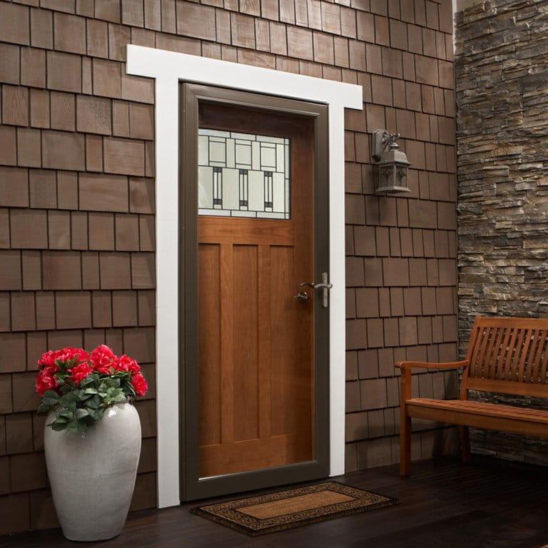8 Series Fullview Interchangeable Storm Door