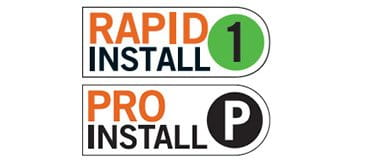 Rapid Install 1 and Pro Install