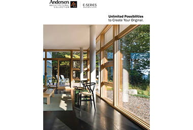View Andersen® Windows E-Series windows and doors brochure. Custom-made windows and doors give you the freedom to create your dream home.