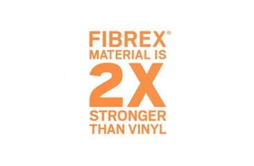 Fibrex 2x stronger than vinyl