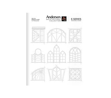 Explore the Andersen Architectural Collection Window & Door Product Guide