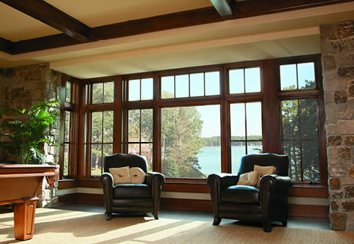 A-Series casement, picture, transom windows