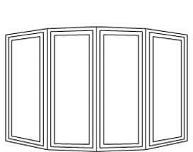 10 Degree Casement Bow
