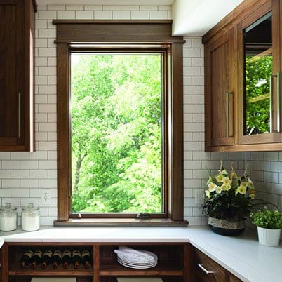 400 Series casement window
