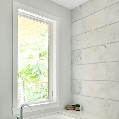 E-Series Casement Window Bathroom