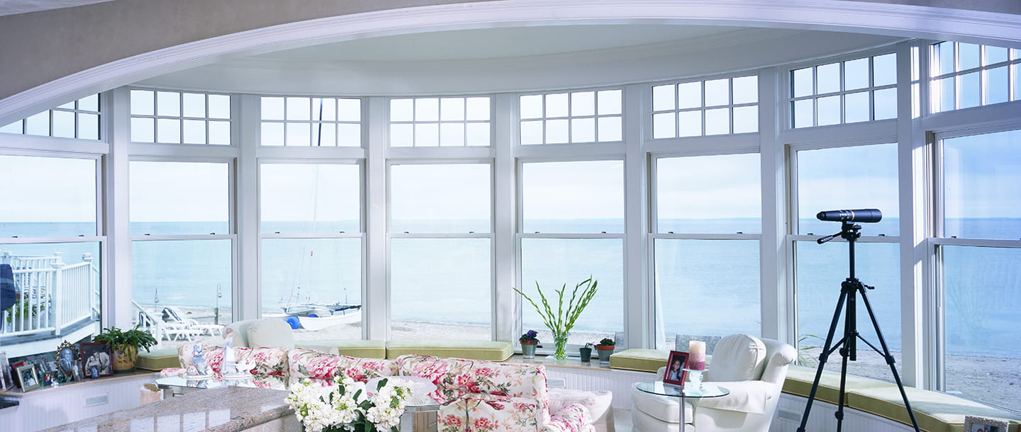 E series double hung window for Window treatments for double hung windows