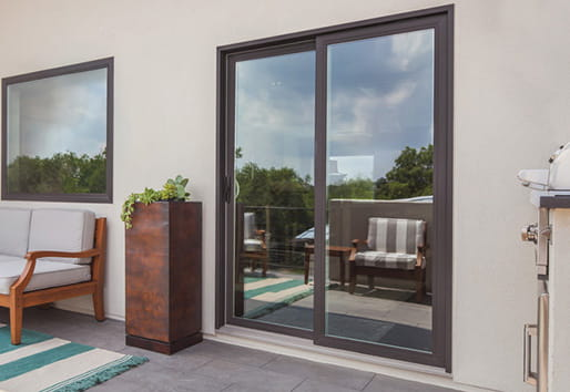100 Series gliding patio door