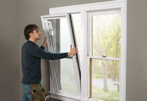 Do it yourself installing your own replacement windows for Installing vinyl replacement windows