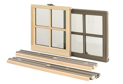 Narroline Sash Conversion Kit Replacement Window Installation