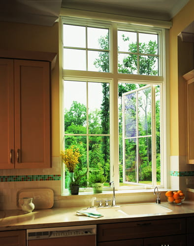 400 Series Casement window with transoms & Home Kitchen Renovation 400 Series Casement and Transom Windows Pezcame.Com