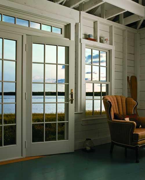 Frenchwood Patio Door And Casement Windows Overlook The Sea.
