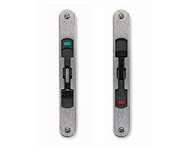 Heritage multi-slide door hardware lock