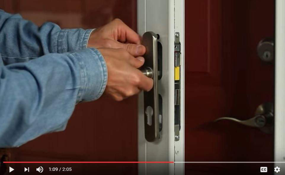45 minute storm door installation video