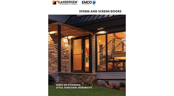 Andersen EMCO Storm Door Brochure