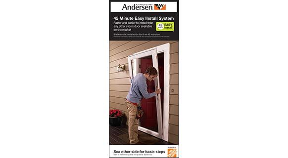 45 minute install brochure