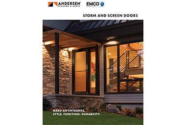 Andersen Home Depot Storm Doors Brochure