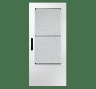 3 quarter light storm doors