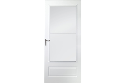 300 series self-storing storm door