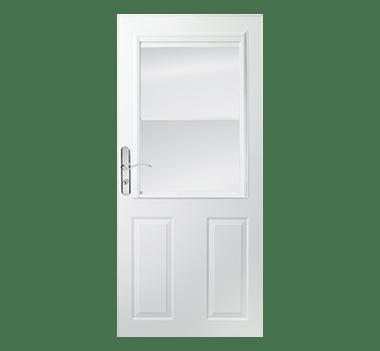Partial Light 1 2 Light Ventilation Storm Doors