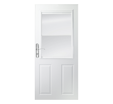 Partial light half ventilation storm doors & Partial Light 1/2 Light Ventilation Storm Doors