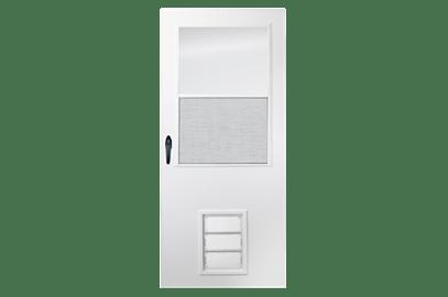 k900 pet entry storm door
