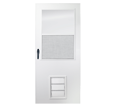 K900 Series Storm Doors With Pet Entry System