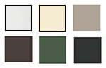 2000 series storm door colors