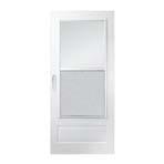 100 series plus self storing storm door
