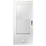 storm door pet entry system