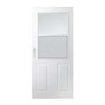 200 series traditionalself storing storm door