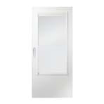 200 series elf-storing storm door